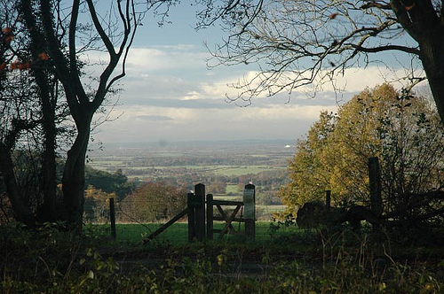 View overlooking Aston Rowant Nature Reserve, part of Chiltern Gateway