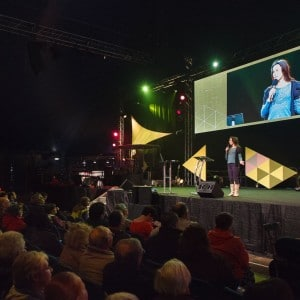 ruth valerio at spring harvest