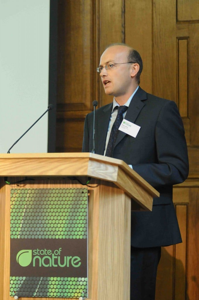 A Rocha UK's Andy Lester at Conference For Nature
