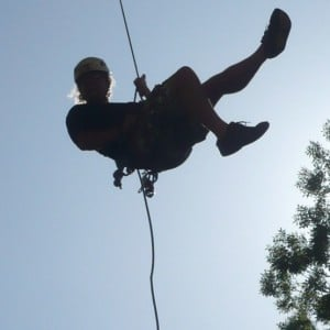 Abseiling with Adventure Plus