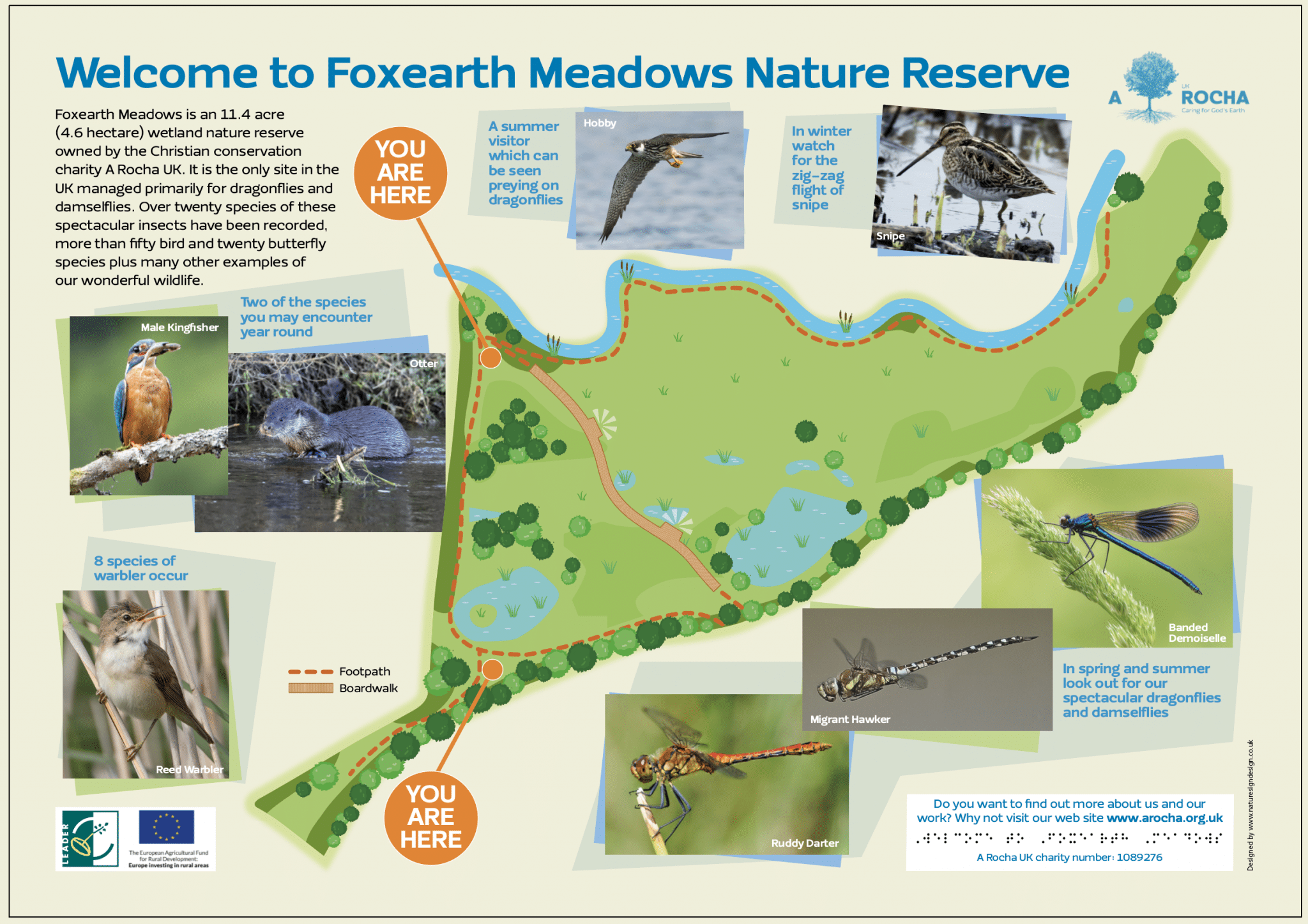 Map of Foxearth Meadows